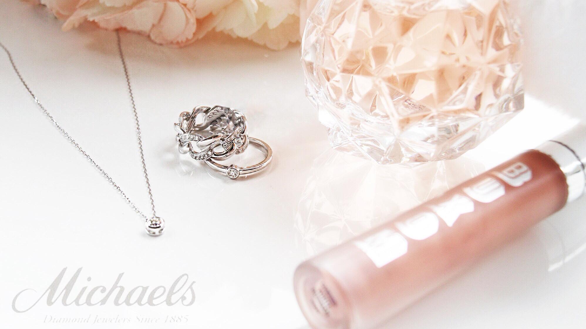 Bezel-Ring-Necklace