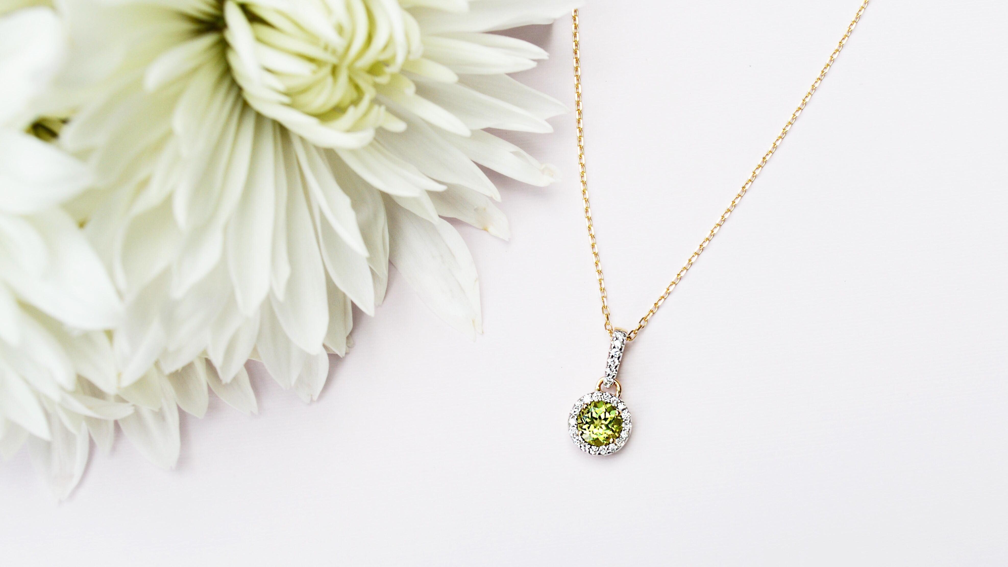 diamond-peridot-necklace-michaelsjewelers