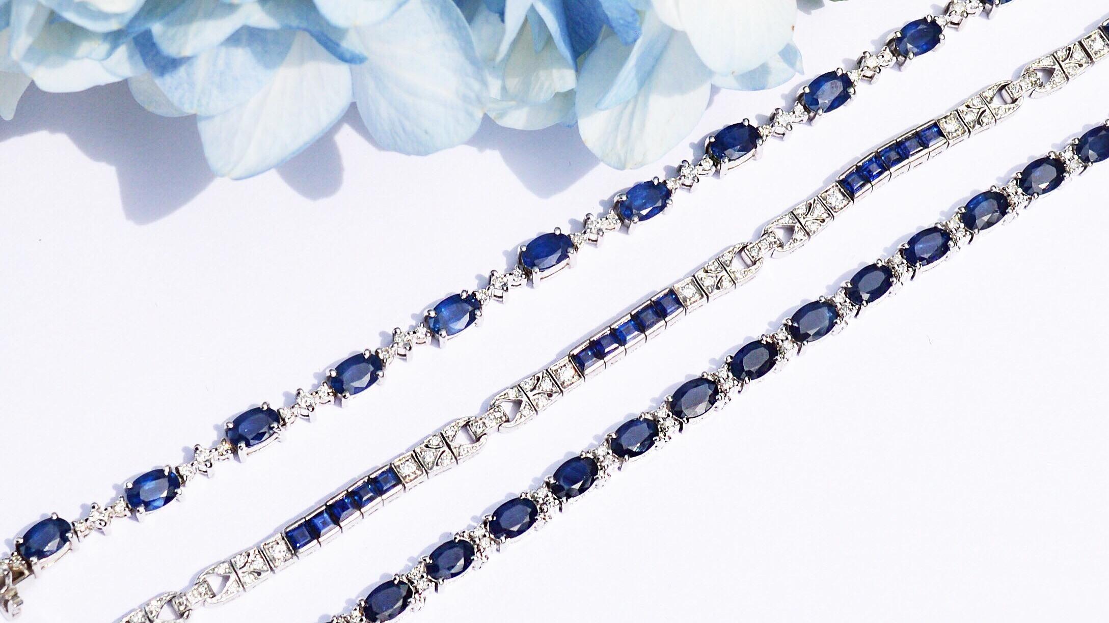 sapphire-diamond-bracelets